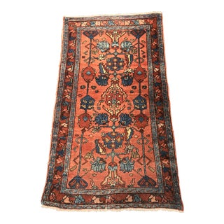 """Bellwether Rugs Antique Persian Malayer Mat Size Rug - 2'3"""" X 3'10"""""""