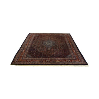 Farahan Sarook Blue Hand Knotted Persian Oriental Room Size Rug Carpet -- 9' x 11'