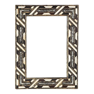 White & Brown Bone Casablanca Mirror