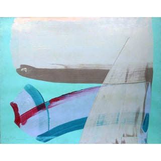 "Julia Marc ""Bolder Strokes 16"" Acrylic Painting"