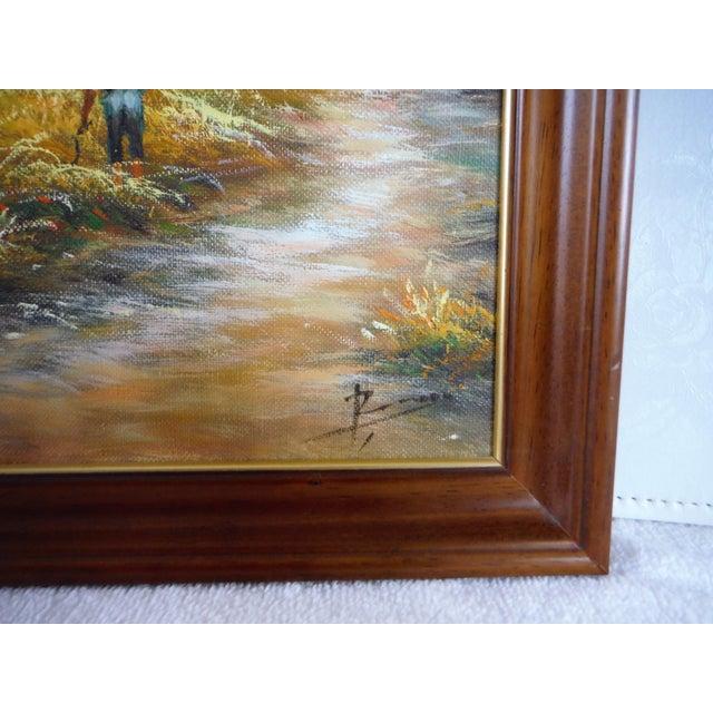 Farmhouse Harvest Original Oil on Canvas - Image 5 of 8