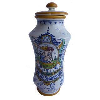 Mid-Century Roche Bobois Covered Jar