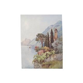 1905 Ella du Cane Print, Oria, Lago di Lugano