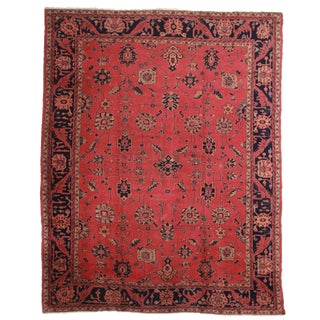 RugsinDallas Antique Hand Knotted Wool Turkish Sparta Rug With Oushak Design - 11′5″ × 15′4″