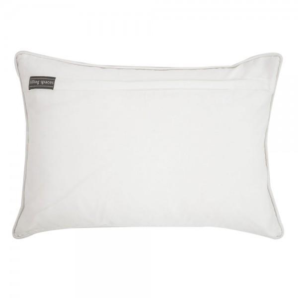 Block Print Linen Pillow - Image 3 of 3