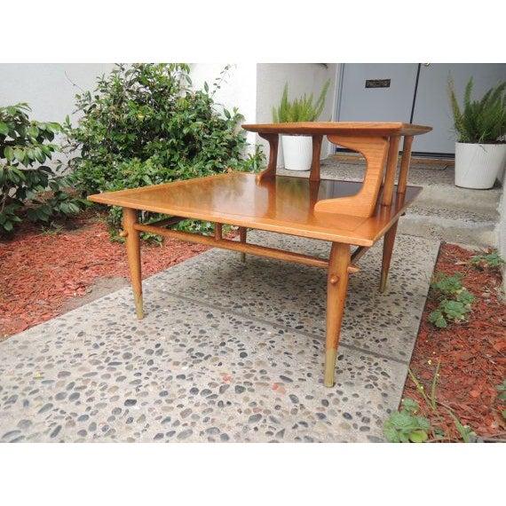 Mid-Century Modern Lane Altavista Corner Table
