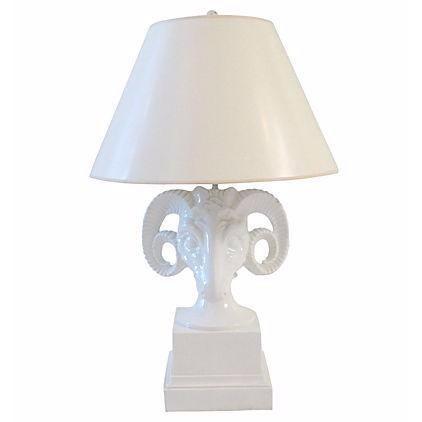 Mid Century Ram S Head Lamp Chairish