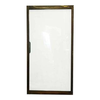 Mid-Century Brass Frame Sliding Doors