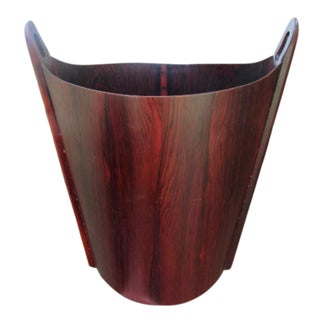Einar Barnes for Ps Heggen Norwegian Rosewood Trash Can