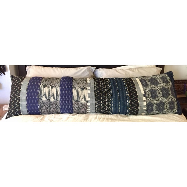 Extra Long Decorative Lumbar Pillow : Anthropologie Extra Long Lumbar Pillow Chairish