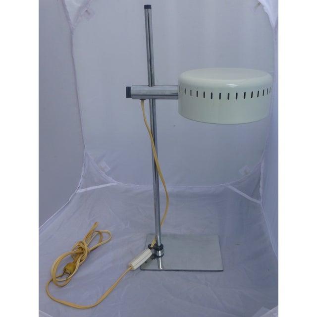 Mid Century Pan Head Lamp, Robert Sonneman - Image 2 of 9