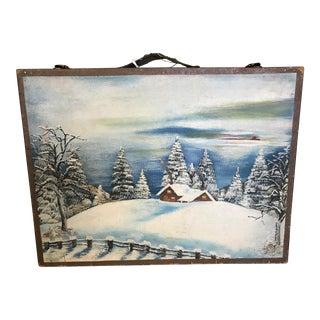 Vintage Wooden Artist's Box