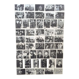 1964 Vintage Mid Century Topps Beatles 3rd Series Signature Trading Cards - Complete Set of 50
