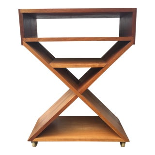 Vintage Mid-Century Teak Storage Side Table