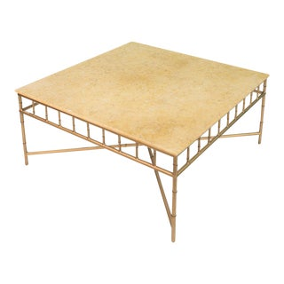 Sarreid LTD Golden Coffee Table