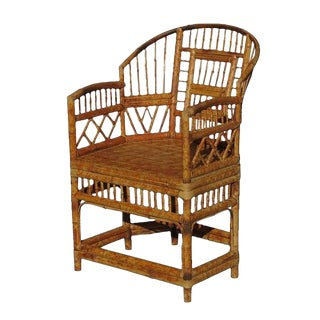 """Brighton"" Tiger Bamboo Armchair"