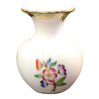 Queen Victoria Herend Hungary Vase