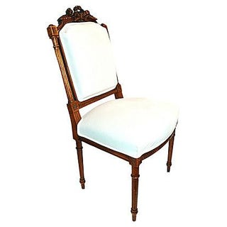French Carved Side Chair