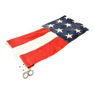 Huge Vintage 48 Star Cloth American Flag
