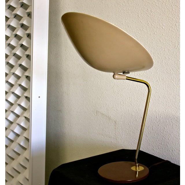 Gerald Thurston for Lightolier Dome Desk Lamp - Image 3 of 5