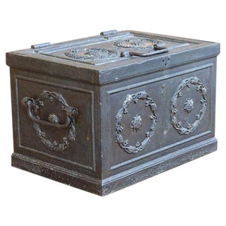 Antique Iron Safe