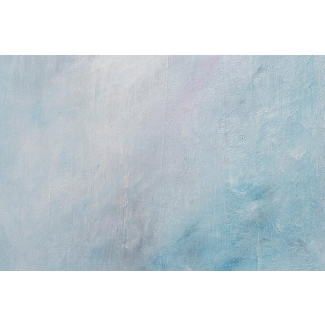 Image of Turbulent Waters Abstract Seascape Painting