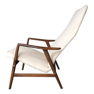 Alf Svensson Danish Reclining Lounge Chair for Dux