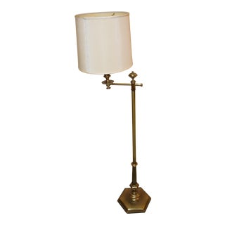 Mid-Century Stiffel Stationary Swing Arm Floor Lamp