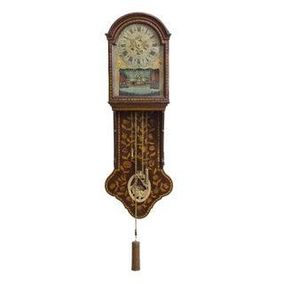 Marquetry Freisland Clock with Automata