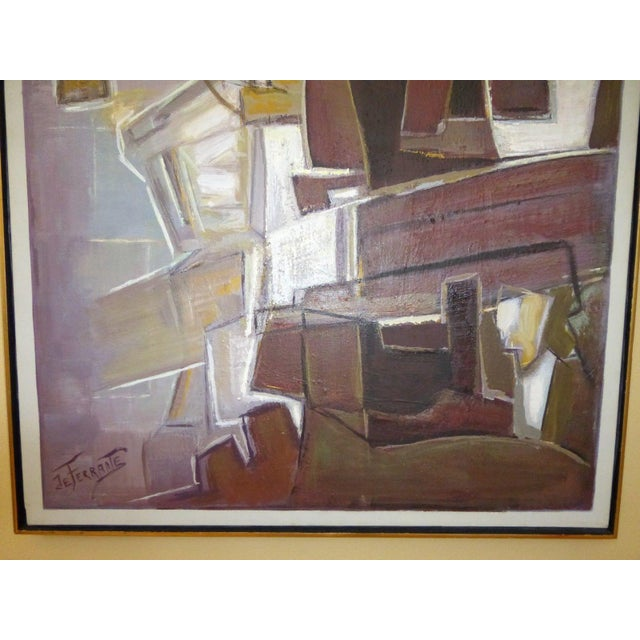 Mario De Ferrante Abstract Oil On Canvas Painting - Image 7 of 9