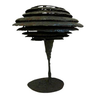 Brutalist Lamp by James Bearden