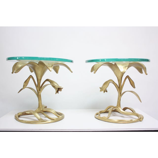 Pair of Arthur Court 'Lily' Side Tables - Image 2 of 11
