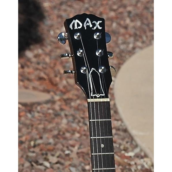 Peter'Max' Baranet Handmade Electric Guitar - Image 4 of 5