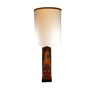 Marcello Fantoni Mid Century Italian Ceramic Lamp