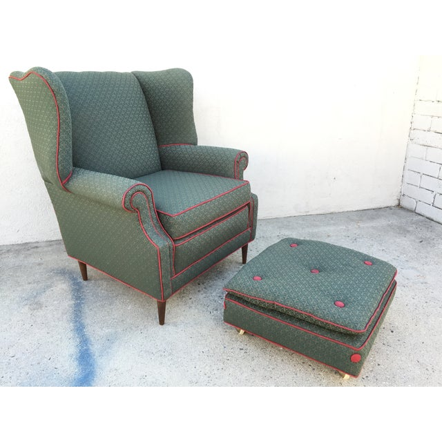 Image of Mid-Century Armchair With Bank