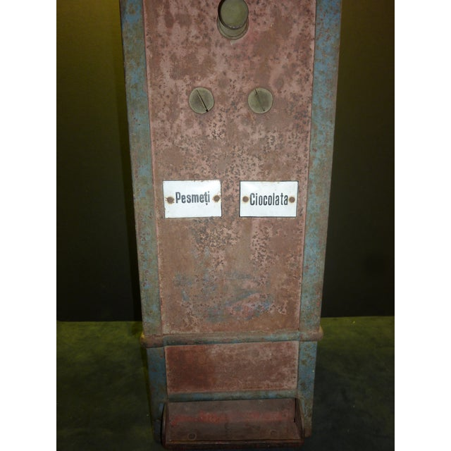 Bombon And Chocolate Pre-War Vending Machine - Image 5 of 5