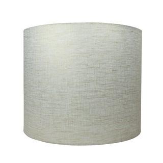 Linen Olive Metallic Handmade Designer Lamp Shade