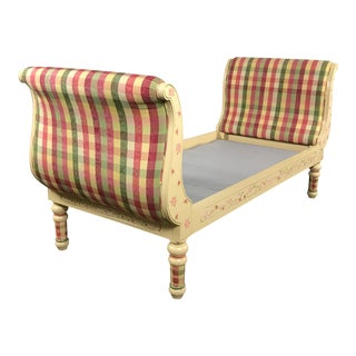 Sweet Pea Of California Hand Painted Twin Sleigh Bed