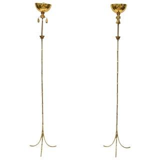 Maison Baguès Floor Lamps - A Pair