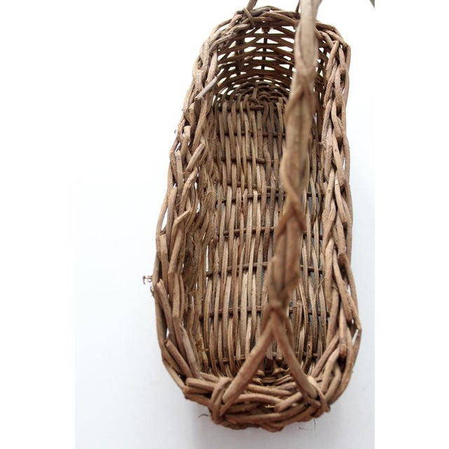 Primitive Wicker Twig Basket - Image 6 of 6
