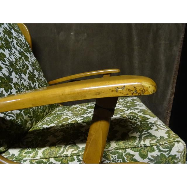 Mid-Century Cushman Style Colonial Platform Rocking Chairs - A Pair - Image 8 of 8