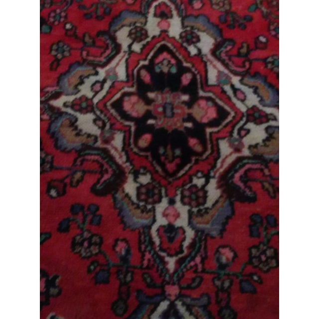 Hand Knotted Persian Area Rug - 5'11 x 10'3 - Image 4 of 11