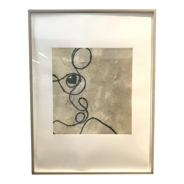 Contemporary Framed Signed Lithograph - Image 1 of 8