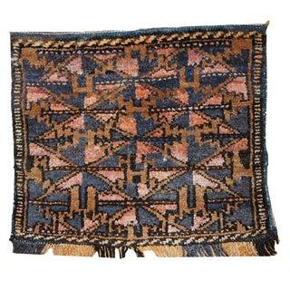 1930s Hand Made Antique Uzbek Bag Face