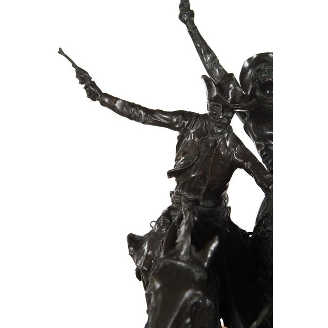 """Image of F. Remington """"Coming Through the Rye"""" Bronze Sculpture"""