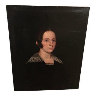 Antique Classic Oil on Canvas Portrait