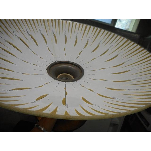 Gerald Thurston Mid Century Walnut Floor Lamp - Image 8 of 8