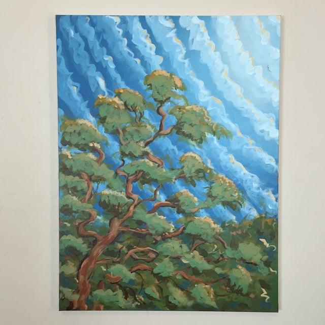 """Sugar Oak"" Acrylic on Canvas - Image 2 of 8"