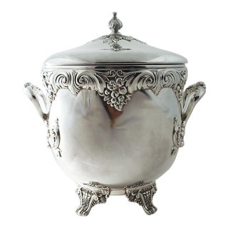 Reed & Barton Silver Ice Bucket