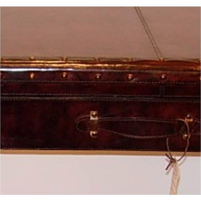 Leather Console Table With Two Drawers - Image 5 of 5